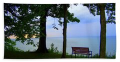 The Bluffs Bench Beach Towel