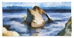 The Bow Fiddle  Beach Towel
