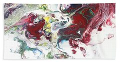 The Breath Of The Crimson Dragon Beach Towel