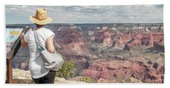 The Breathtaking View Beach Towel