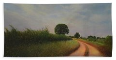 The Brighter Road Ahead Beach Towel by Blue Sky
