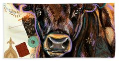 The Bull Beach Towel