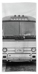 The Bus To Laredo Beach Towel