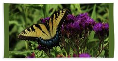 The Butterfly Buffet Beach Towel by J L Zarek