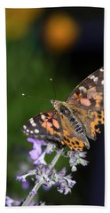 Beach Towel featuring the photograph The Butterfly Effect by Alex Lapidus