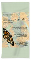 The Butterfly Beach Towel