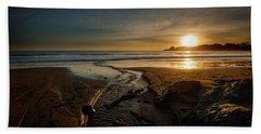 The Calming Bright Light Beach Sheet