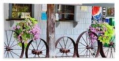 Wagon Wheels Beach Sheet