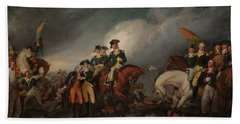 The Capture Of The Hessians At Trenton Dec 26, 1776 Beach Towel