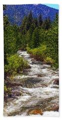The Carson River Beach Towel
