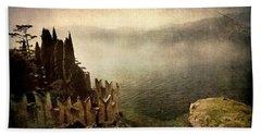 The Castle On The Lake. Malcesine Beach Sheet