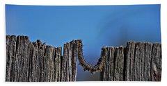 Beach Sheet featuring the photograph The Caterpillar by Cendrine Marrouat
