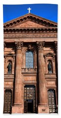 The Cathedral Basilica Of Saints Peter And Paul Beach Towel