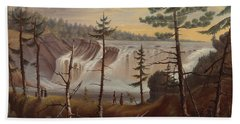 The Chaudiere Falls Beach Towel
