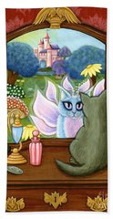 The Chimera Vanity - Fantasy World Beach Towel