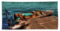 The Chris Craft Continental - 1958 Beach Towel