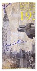 The Chrysler Building Beach Towel by Jon Neidert