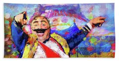 The Circus Beach Towel
