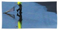 The Clammer Beach Towel