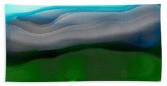 The Hilltop View Beach Towel