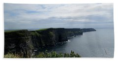The Cliffs Of Moher Ireland Beach Towel