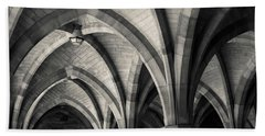 Cloisters Museum Beach Towels