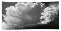 Beach Towel featuring the photograph The Cloud Gatherer by John Bartosik