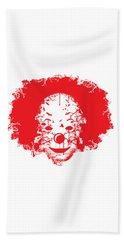The Clown Beach Towel