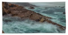 The Coastline Beach Towel by Jonathan Nguyen
