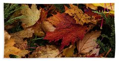The Color Of Fall Beach Towel