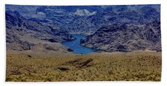 The Colorado River  Beach Towel