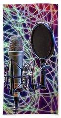 The Colors Of Music Beach Towel