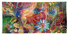 The Colors Of Spring. The Original Can Be Purchased Directly From Www.elenakotliarker.com Beach Towel