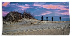 The Colors Of Sunset Beach Towel