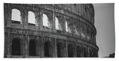 The Colosseum, Rome Italy Beach Towel