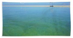 The Colours Of Paradise On A Summer Day Beach Towel