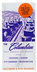 The Columbian Beach Towel