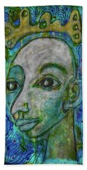Beach Towel featuring the mixed media The Coming Of Spring by Mimulux patricia No