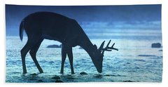 The Cool Of The Night - Square Beach Towel by Rob Blair