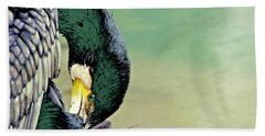 The Cormorant Beach Towel