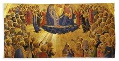 The Coronation Of The Virgin Beach Sheet