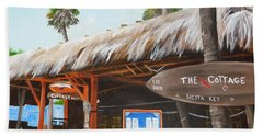 The Cottage On Siesta Key Beach Towel