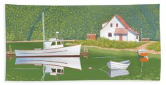 The Cottsge At Blackberry Point Beach Towel