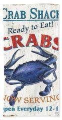 The Crab Shack Beach Towel