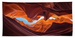 The Crack Beach Towel by JR Photography