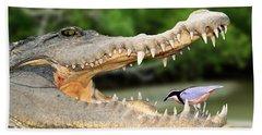 The Crocodile Bird Beach Sheet