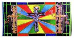 The Crucifffictiooon - Paradisi Gloooria Beach Towel