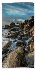 The Cuillin From Elgol Beach Towel
