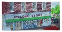 The Cyclone Store 1948 Beach Sheet