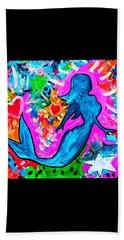 The Dancing Mermaid Beach Towel